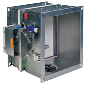 Clapet coupe feu Clean Air Technologies CCF EI 120, EI 90, actionneur Manuel