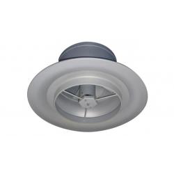 Diffuseur plafond pulsion giratoire variable avec couronne directrice type DD-VL