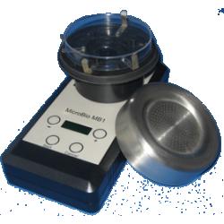 Echantilloneur microbiologique aéraulique type microbio MB1